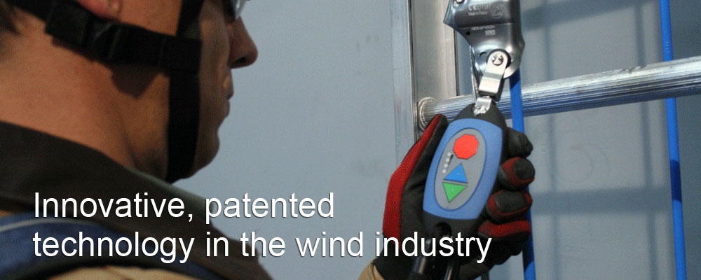 Innovative, patented technology in the wind industry
