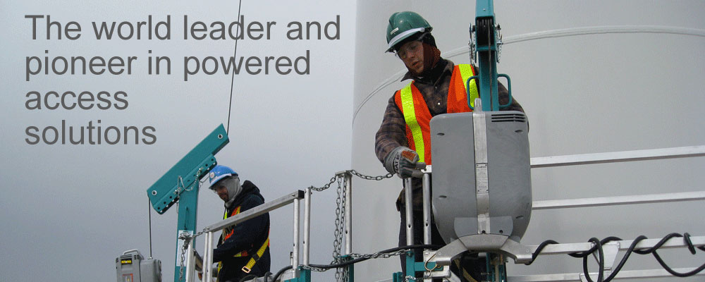 The world leader and pioneer in powered access solutions